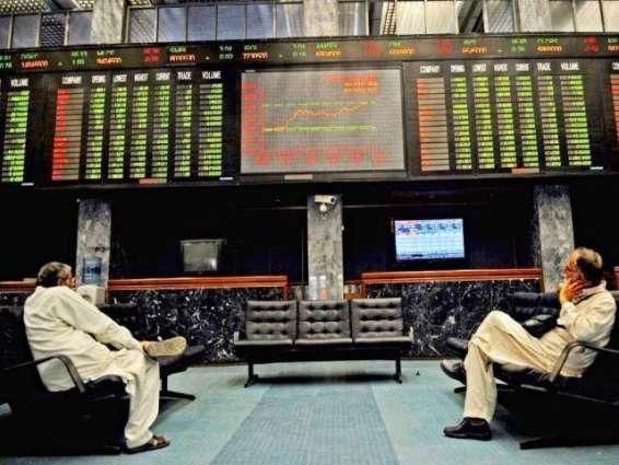 Stocks edge up 374.37 points in Karachi