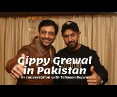 Gippy Grewal in Pakistan | Exclusively in conversation with Tehseen Bajwa
