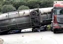 Eight Dead in Traffic Accident in Southern Cambodia - Traffic Police