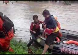 Jakarta floods: 'Not ordinary rain', say officials