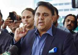 Politics can't be done over national institutions: Federal Minister for Science and Technology Fawad Chaudhry