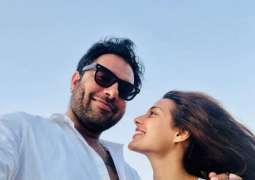 Iqra Aziz, Yasir Hussain's pictures of honeymoon trip go viral