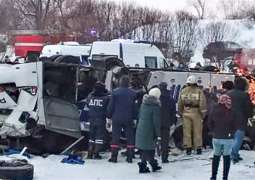 Two People Killed in Bus Accident in Russia's Siberia - Traffic Safety Agency