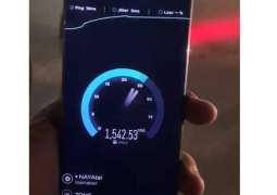 Zong conducts the first 5G video call of Pakistan