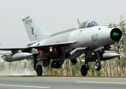 PAF Training Aircraft crashes near Mianwali