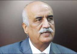 Khurshid Shah produced before NAB court in assets case