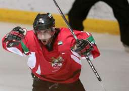 UAE National Ice Hockey Team to compete for bronze medal in Belarus