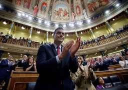 Spanish Parliament Votes to Back Sanchez as Prime Minister
