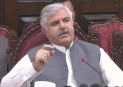 Chief Minister KP for early construction of facilitation centers in merged districts