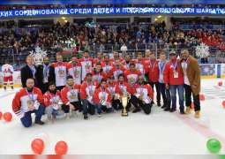 UAE wins bronze medal in ice hockey tournament in Belarus