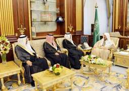رئيس مجلس الشورى يستقبل عدداً من سفراء خادم الحرمين الشريفين المعينين لدى بعض الدول الشقيقة والصديقة