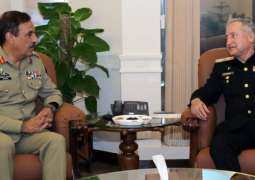 Chairman Joint Chiefs Of Staff Committee Visits Naval Headquarters Islamabad