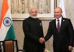 Putin, Modi Discuss Situation in Persian Gulf Area, Libya by Phone - Kremlin