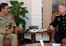Chairman Joint Chiefs of Staff Committee visits naval headquarters