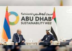 Mohamed bin Zayed meets global leaders at ADSW 2020