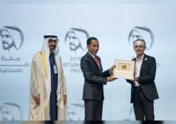 Mohamed bin Zayed honours 10 winners of Zayed Sustainability Prize 2020