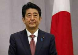 Japan's Abe Says Tendency Toward Reducing Tensions in Middle East Visible