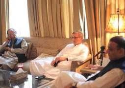 PTI's negotiation-committee to meet PML-Q and BNP leaders