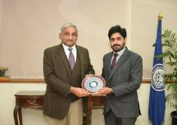 Chairman PRCS Abrar-ul-Haq visits NUST; vows to enhance bilateral ties to achieve national objectives