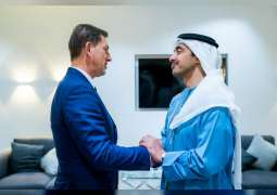 Abdullah bin Zayed receives Slovenian FM