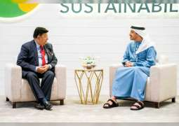 Abdullah bin Zayed receives Minister of Foreign Affairs of Bangladesh