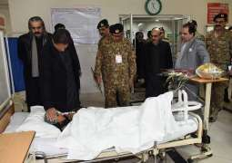 PM inquires after injured as death toll rises due to severe cold weather in AJK