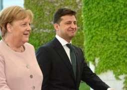 Zelenskyy Tells Merkel by Phone Work Under Way to Form New Lists for Donbas Prisoner Swap