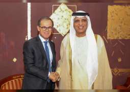 RAK Ruler receives Italian Ambassador