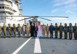 سمو نائب وزير الدفاع يرأس وفد المملكة في افتتاح قاعدة برنيس العسكرية بجمهورية مصر العربية