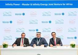 """مصدر"""" و""""انفينيتي انرجي"""" تؤسسان شركة لتطوير مشاريع طاقة متجددة في مصر"""