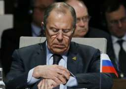 Foreign Minister Sergey Lavrov Says International Law Always Falling Behind Real Life