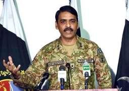 General Asif Ghafoor thanks everyone