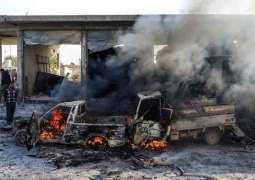 Six Soldiers Killed, 13 Others Injured in Car Bomb Explosion in Syria's Tell Abyad -Source