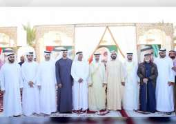 Mohammed bin Rashid attends Al Ketbi, Al Ahbabi and Al Falasi weddings