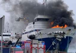 Fire-Stricken Russian Trawler to Be Towed to Norway's Bergen - Reports