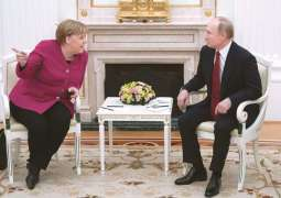Putin, Merkel Discuss Over Phone Upcoming Talks in Berlin on Libya - Kremlin
