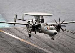 E-2D Airplane Tests Gerald Ford Carrier's Electromagnetic Launch, Arresting Gear - US Navy