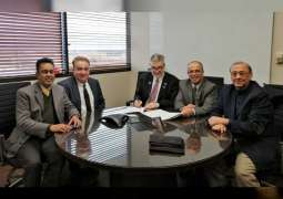 AURAK signs an agreement with University of Texas at Arlington