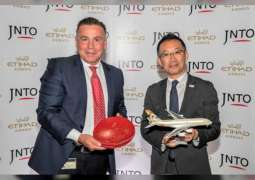 Japan's Tourism Organisation, Etihad Airways cooperate on consumer campaigns