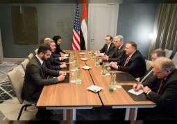 Abdullah bin Zayed meets US Secretary of State