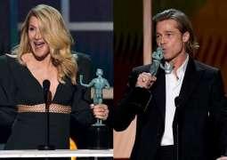 Brad Pitt and Dern win SAG awards