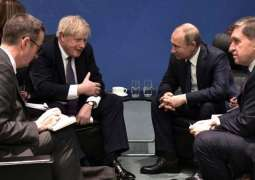 Putin-Johnson Meeting in Berlin Was Brief, Constructive - Kremlin