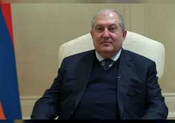 """رئيس أرمينيا لـ """"وام"""" : نرحب بعقد اتفاقية تجارة حرة بين دول الخليج العربية و الاتحاد الأوروآسيوي"""