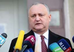 Moldova's President Igor Dodon Says Left for Israel to Attend World Holocaust Forum