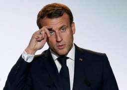 France's Macron Says Determined to Keep Nuclear Weapons Out of Iran's Reach