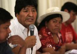 Bolivia's Socialists Oppose Morales' Candidates for President, Prime Minister