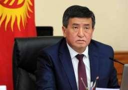 Kyrgyz President Sooronbay Jeenbekov