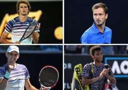 Dominic Thiem, Daniil Medvedev, Alexander Zverev into third round of Australian Open