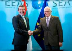 Abdullah bin Zayed meets EU High Representative