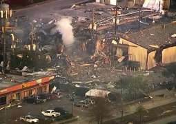 At Least One Person Injured in Massive Explosion in US City of Houston - Fire Dept.